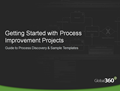 Getting Started with Process Improvement: 18 Page Guide