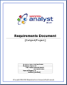 Requirements Document Template by ModernAnalyst.com