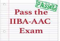 Strategy to Pass the IIBA-AAC Exam