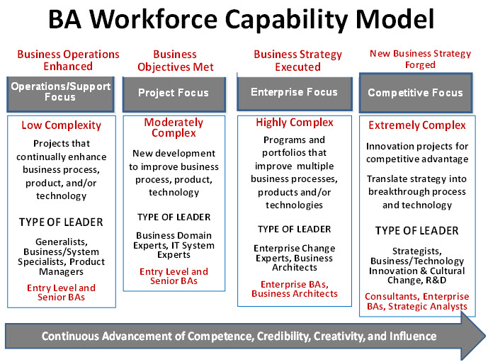 Business Analyst Workforce Capability Model