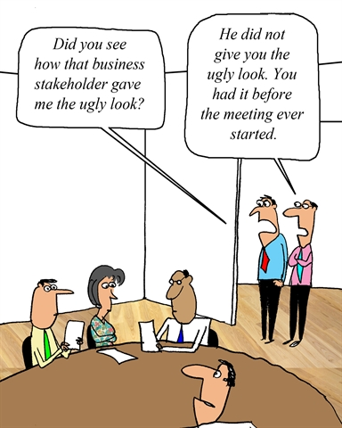 Business Analyst Attitude