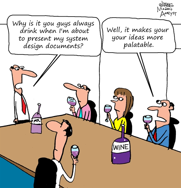 Humor - Cartoon: System Design Documents
