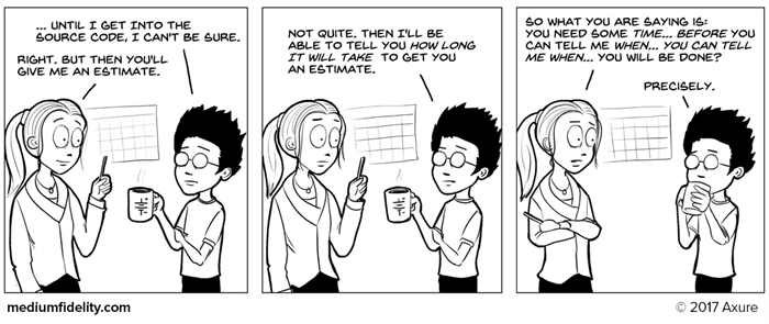 Humor - Cartoon: I Need a Rough Estimate