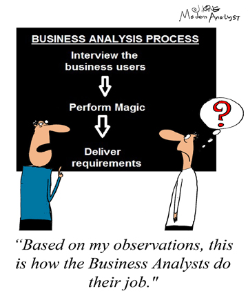 What the Business Analysis Process Looks Like From the Outside