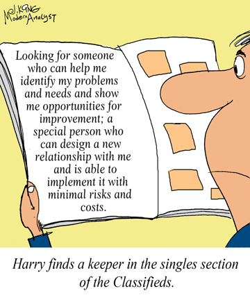 Can the Business Analyst find the perfect match?