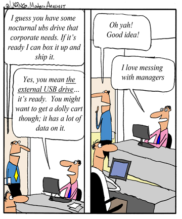 Humor - Cartoon: Don't Lose Your Technical Skills When You Become a Manager