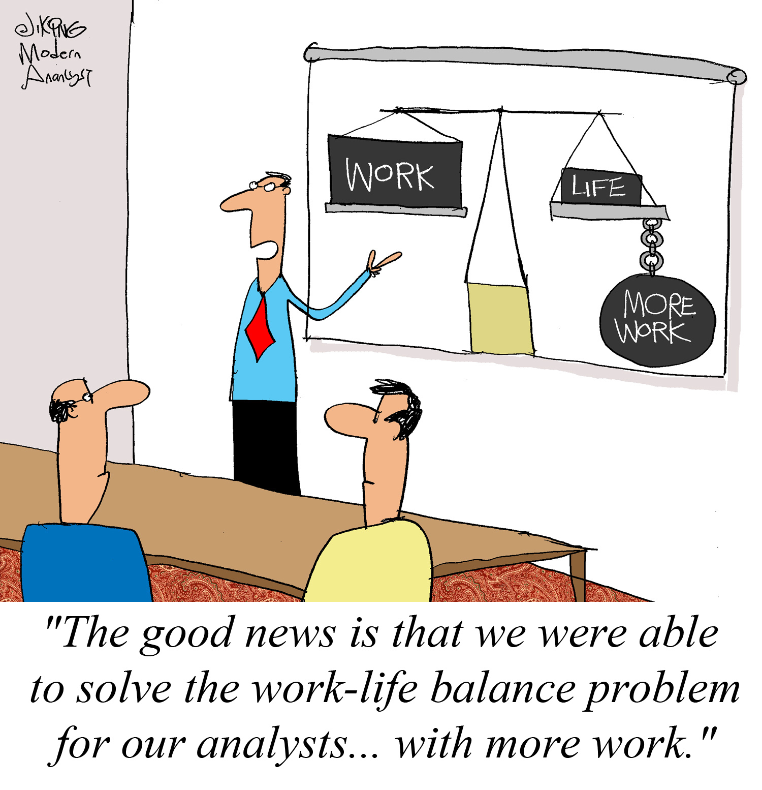 Work-Life Balance for the Business Analysts
