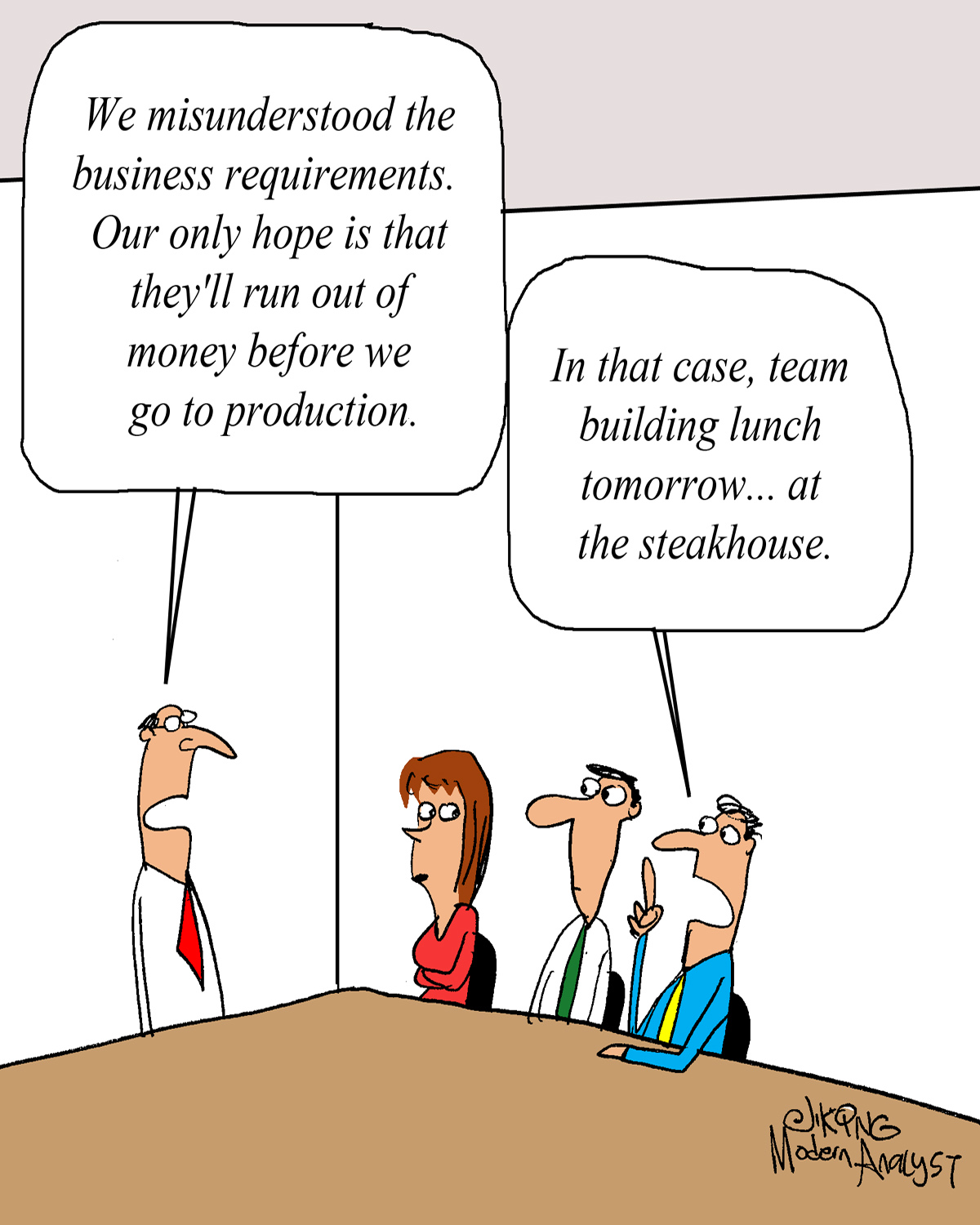 We Misunderstood the Business Requirements...