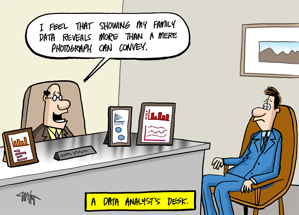 A Data Analyst's Desk...