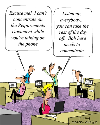 Concentrate on the Requirements Document