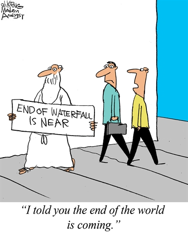 Humor - Cartoon: End of the world... for Business Analysts...