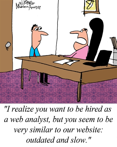 Web Analyst Candidate
