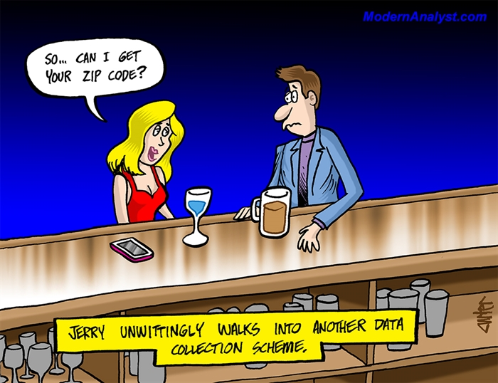 Humor - Cartoon: Data Collection Method