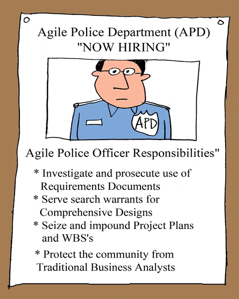 Agile Police Department (APD): NOW HIRING!
