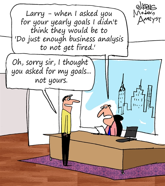 Business Analyst Yearly Goals