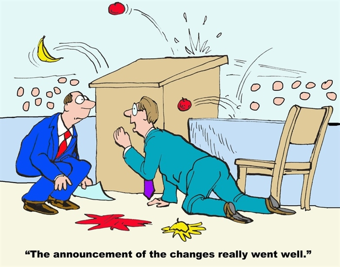 Change Management Made (not) Easy