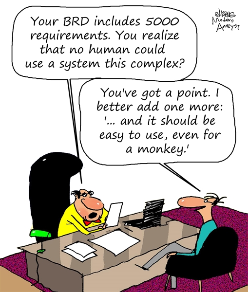 Humor - Cartoon: System Requirement: