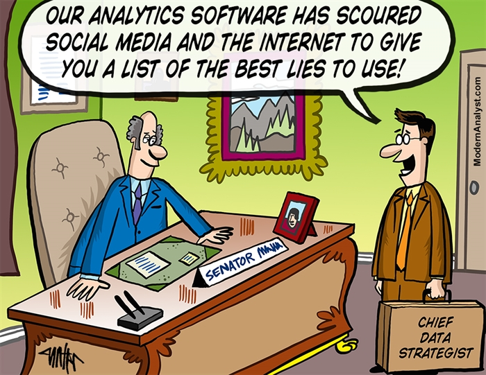 Humor - Cartoon: Chief Data Strategist... in Action