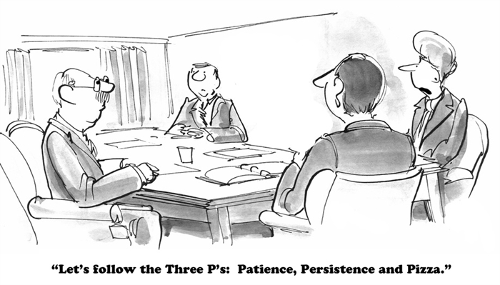 Humor - Cartoon: Technique: The Three P's