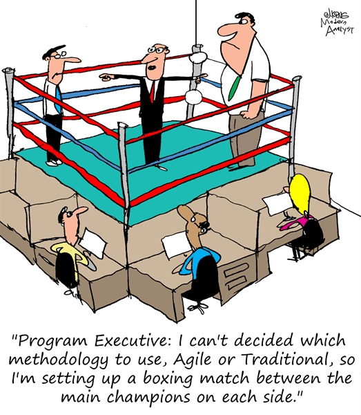 Choosing Between Agile and Waterfall Methodologies