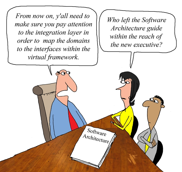 Humor - Cartoon: Software Architecture Recommendation or....