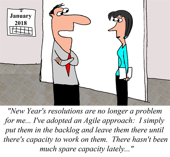 An Agile approach to New Year's Resolutions