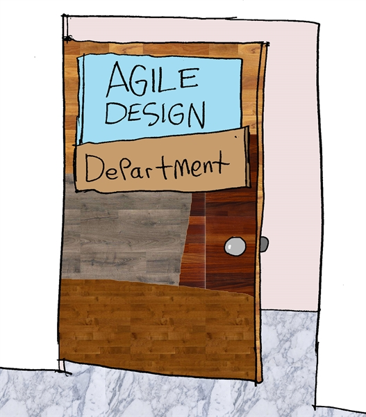 Humor - Cartoon: Agile Design...