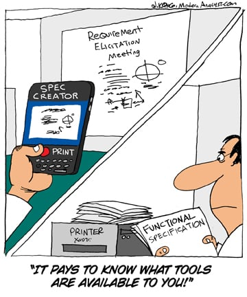 Humor - Cartoon: There's an app for that!
