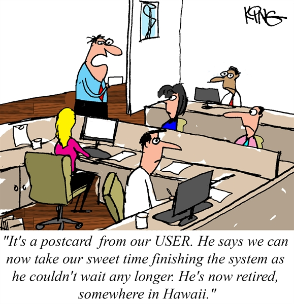 Our User Retired...