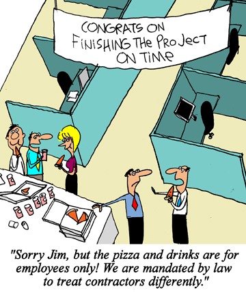 Humor - Cartoon: Life as a Business Analyst Consultant # 2: Great job on the project... but...