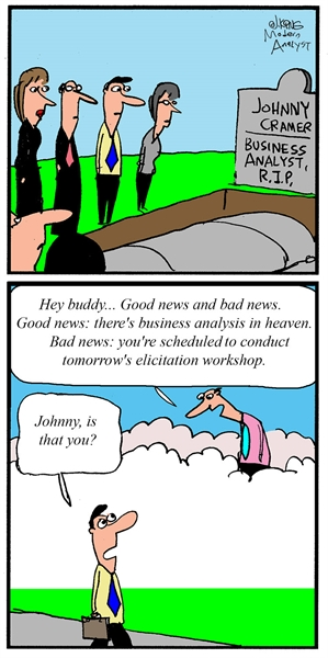 Business Analyst in Heaven