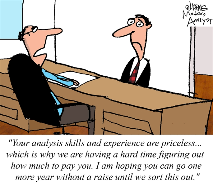 Humor - Cartoon: Priceless Business Analysis Skills