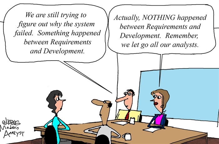 Between Requirements and Development