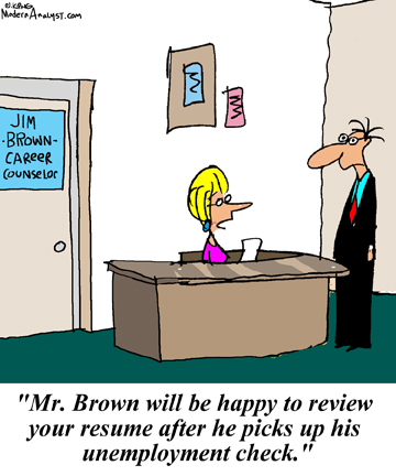 Humor - Cartoon: Who's reviewing your Business Analyst Resume?
