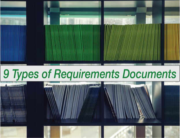 9 Types Of Requirements Documents