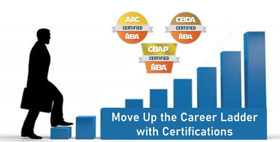 Business Analysis Certifications - Career Ladder
